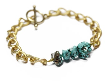 Natural Howlite Bracelet