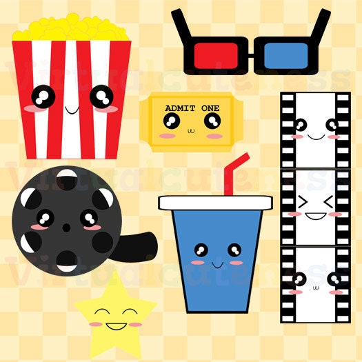 clipart of movie night - photo #48