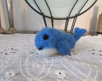Needle Felted Whale