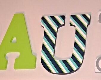 Boy Nursery Letters