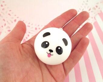 Squishy Panda Charm, Cute Kawaii Panda Squishies Pendant
