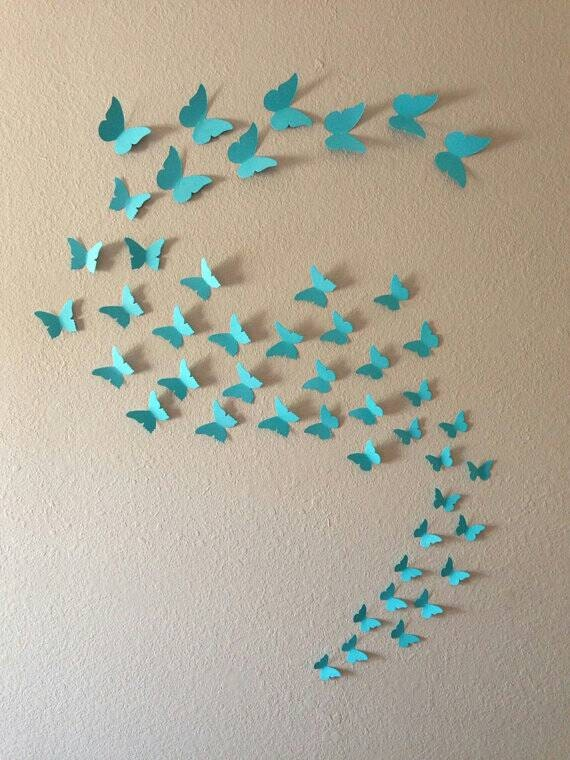 3d butterfly wall decals b wall decal diy 3d butterfly wall stickers art design decal room decor