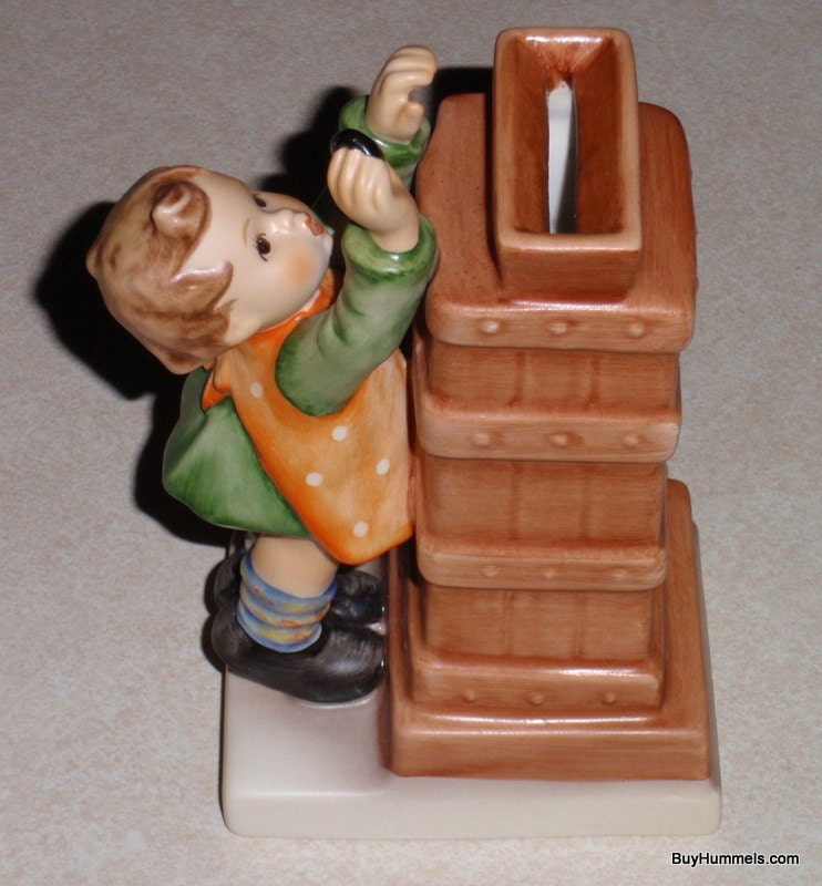 Little Thrifty Goebel Hummel Figurine 118 TMK7 From 1991 With