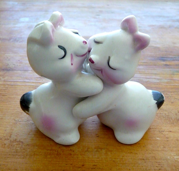 Bunny hugs salt and pepper shakers - Salt and pepper hug ...