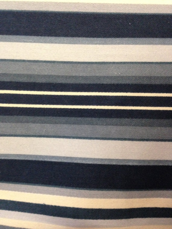 Waverly Fabrics - Prentis Stripe Design - 4 Colors - Sold By The Yard