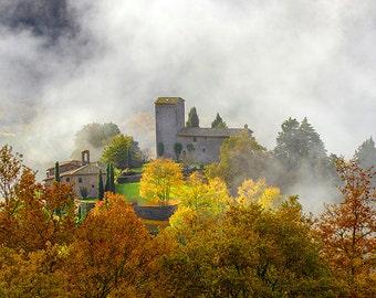 Chianti landscape, Tuscany landscape, Italy landscape, Autumn , Fall colors, Fine Art prints Fine Art photography, Landscape photography.