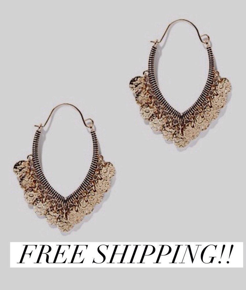 earrings gold earrings hoops earrings dangle earrings by cetro