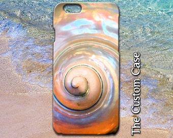 Seashell Iphone Case, Nautilus Iphone Case, Beach Iphone Case, Iphone 4/5/5c/6/6+, Samsung Galaxy S3/S4/S5/S6/S6 Edge
