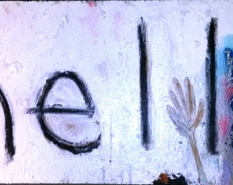 Hell~~Original Art   FREE SHIPPING!!