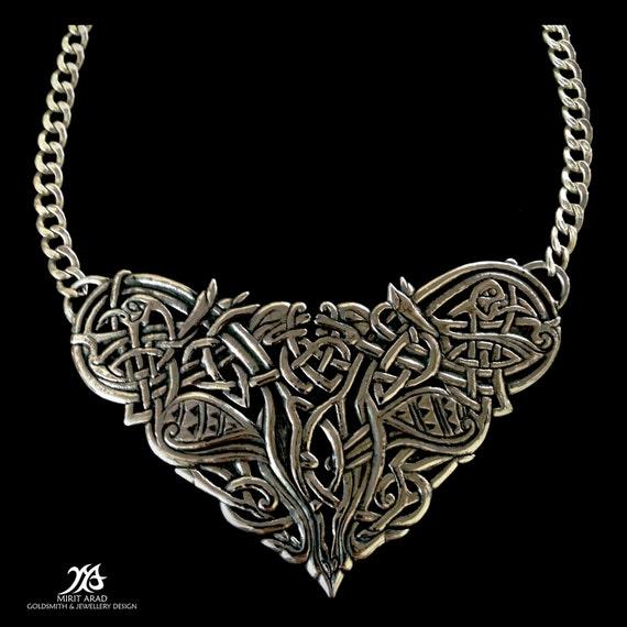 Celtic Necklace Tattoo Necklace,celtic Tattoo