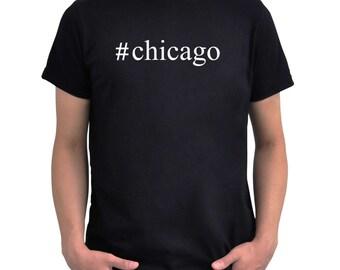 Hashtag Chicago  T-Shirt