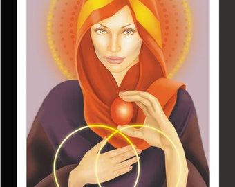Mary Magdalene Art Print by Jason Mccreadie 2014