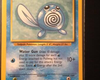 Original Poliwag Pokemon Card