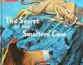 Lassie - The Secret of the Smelters' Cove - Vintage Children Youth Adult Reading Book with Illustrations