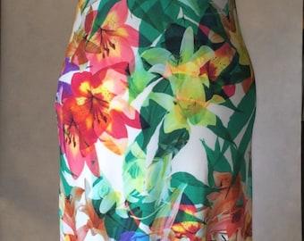 Summer dress, maxi dress, long dress, beach dress, floral dress, halter neck dress