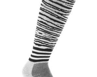 Samson® Zebra Animal Funky Socks Sport Knee High Sport Football Rugby Soccer