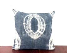 Popular Items For Indigo Pillow Cover On Etsy