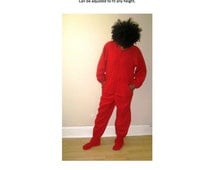 Adult Footed Pajama Sewing Pattern