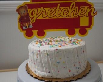 Daniel Tiger Cake Topper