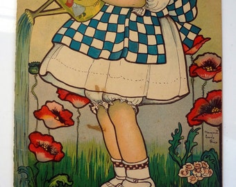 1915 The Betty Fairy Book No. 300 by Margaret Evans Price Children's Illustrations Color Lithographs Die Cut