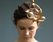 Gilded Bow Fascinator