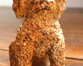 A Dogs Life.. Vintage Metal Cast Dog