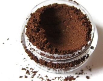 CHOCOLATE CAKE Dark Brown Chocolate Mineral Eyeshadow Vegan