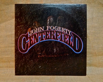 JOHN FOGERTY - Centerfield - 1985 Vintage Vinyl Record Album