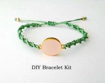 DIY Bracelet Kit - Micro Macrame Tutorial