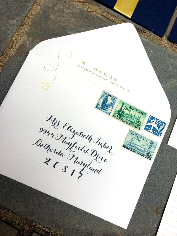 Envelope Addressing Printable Digital File Wedding