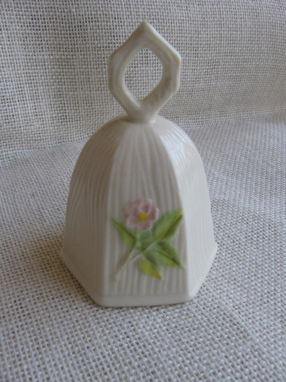 Belleek China Bell Limited Edition Bell No. 5006 Belleek Ireland Collectible Bell Gift MyVintageTable