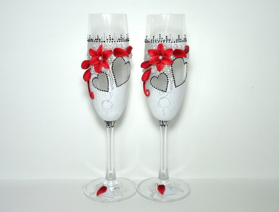 Wedding Present Champagne Glasses : Wedding champagne glasses, Toasting flutes, Favor gift, Wedding ...