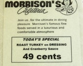 Morrisons Cafeteria New Orleans Coaster