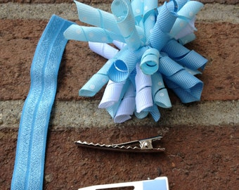UNC Korker Hair Bow