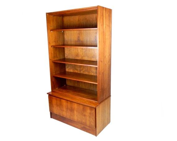 reserved mid century modern teak shelving unit by. Black Bedroom Furniture Sets. Home Design Ideas