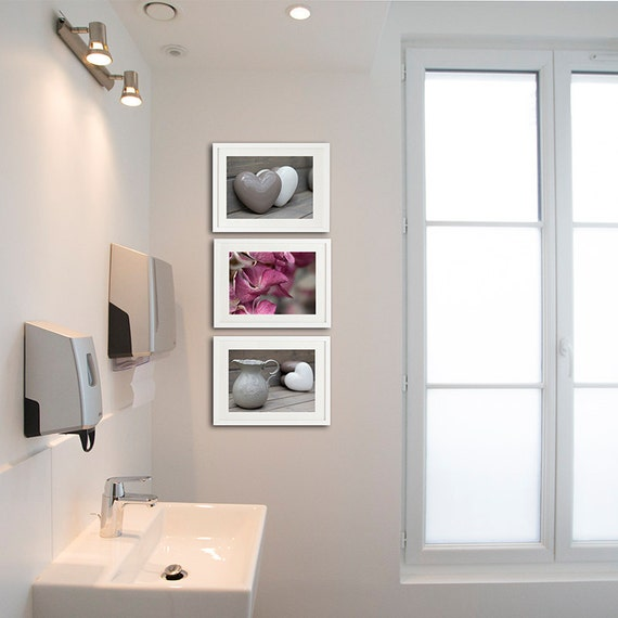 Set of 3 photographs 8x10 bathroom decor bathroom by for Bathroom design ideas 8x10