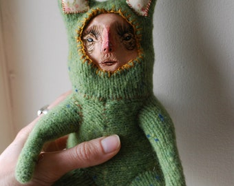 Offbeat Orphan Bunny Line: Emeline MADE TO ORDER