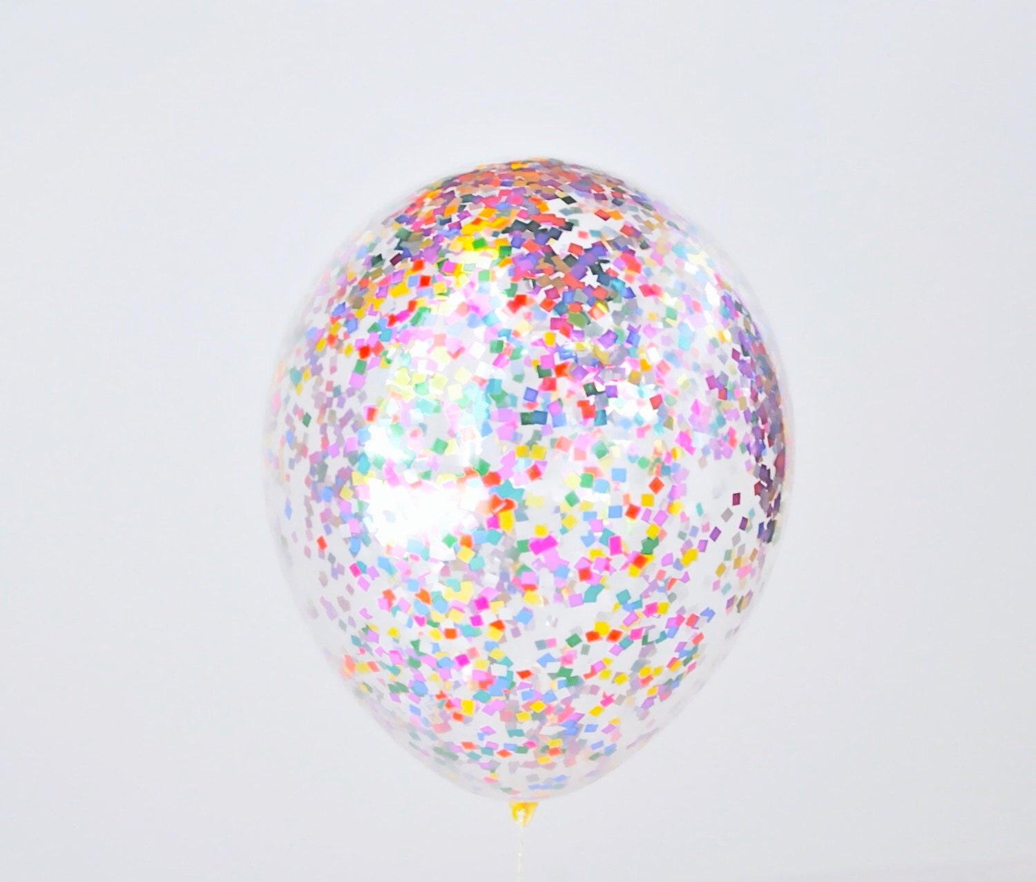 Multicolor confetti balloons set of 3 balloons birthday