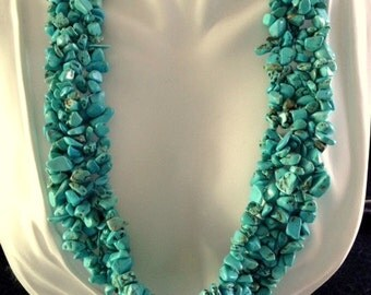 Turquoise Necklace - Turquoise Statement Necklace