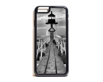 Nantucket Lighthouse iPhone Samsung Case iPhone 7 6 6 plus 5 5s 5c SE case Nautical Cell Phone Case Galaxy S7 S6 S5 S4 Beachy Phone Case
