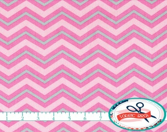 PINK & GRAY CHEVRON Fabric by the Yard, Fat Quarter Pink Chevron Fabric Light Pink Fabric Quilting Fabric Apparel 100% Cotton Fabric w2-15