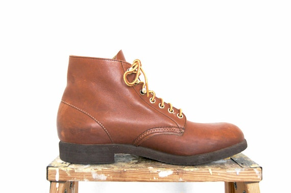 Vintage Red Wing Boots 2126 Leather Work Boots Men's