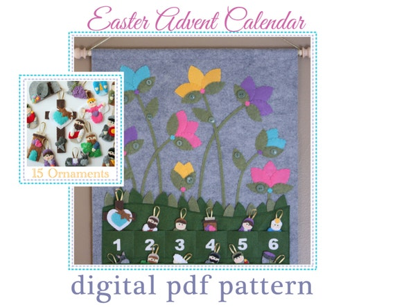 Easter Advent Calendar Pattern