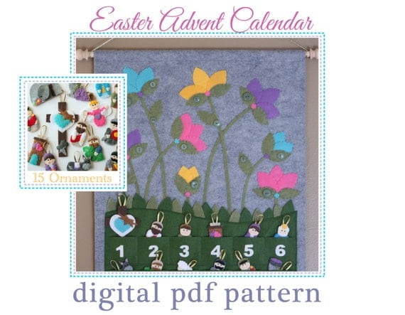 Easter Advent Calendar Pattern