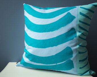 Marimekko Pillow Cover Set, Throw Pillow Cover Set of 2 Pillow Covers 20x20 Blue Home Decor, Housewarming Gift, Decorative Pillows for Couch