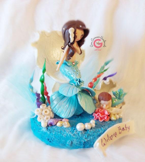 baby shower cake topper mermaid baby shower cake topper mermaid baby