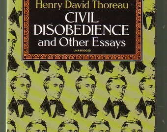 civil disobedience  civil disobedience and other essays by henry david thoreau like new condition