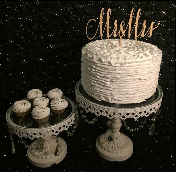Mr and Mrs Cake Topper, Wedding Cake Topper, Gold Cake Topper, Rose Gold Cake Topper, Silver Cake Topper, Glitter Cake Topper, Rustic Cake