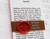 Bookmarks - The 12 Apostles