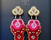 Earrings soutache -MOLLY-